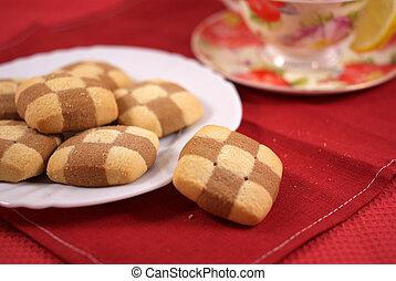 Cookies with tea