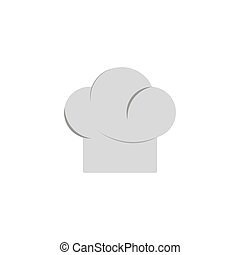 Cooking cap isolated on white background