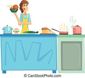 Cooking Contest Female Participant