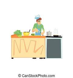Cooking Contest Male Participant