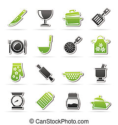 Cooking Equipment Icons
