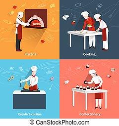 Cooking Flat Set