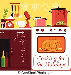 Cooking for the holidays
