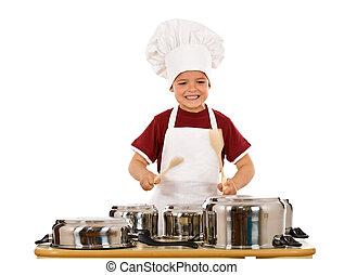 Cooking has a hard but fun beat