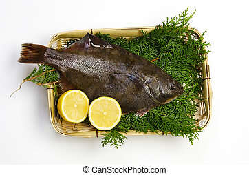 flatfish - Cooking ingredient series flatfish. available for...