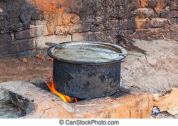 Cooking jaggery - uncentrifuged sugar - Cooking palm sugar...
