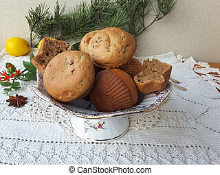 Cooking muffins with Kalanchoe - Kalanchoe muffins, cooking...