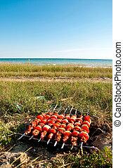 Cooking near sea