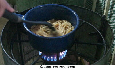 Cooking Spaghetti  - Cooking Spaghetti