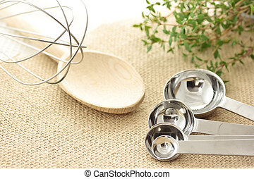 Cooking Utensils - Cooking utensils - measuring spoon,...