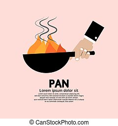 Cooking With Frying Pan.