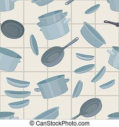 cookware, seamless, fundo