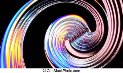 Cool 4K abstract background - 3D Animation