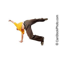 Cool breakdancer
