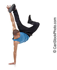 cool breakdancer - stylish and cool breakdance style dancer...