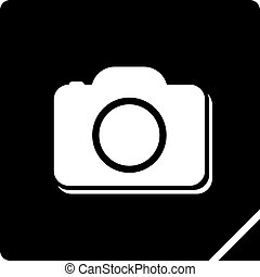 cool cam icon design - Creative design of cool cam icon