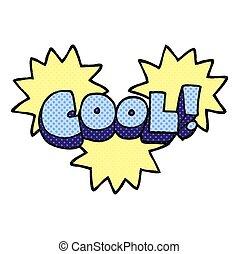 cool comic book style cartoon symbol