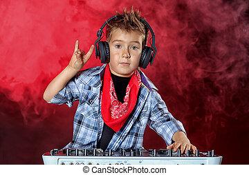 cool dj boy