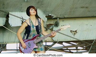 Cool guitarist