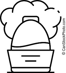 Cool humidifier icon, outline style - Cool humidifier icon....