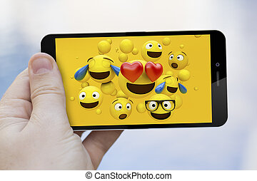 cool mobile emoticons