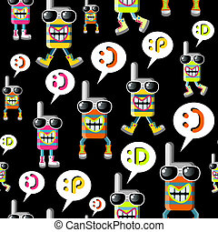 Cool MOBILE PHONE pattern