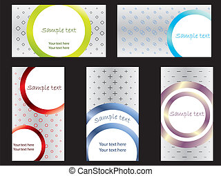 Cool new business card set 2