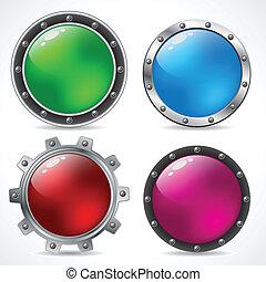Cool new technology button design