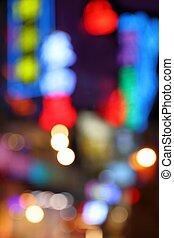 Cool night city