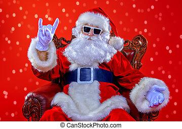 cool old Santa