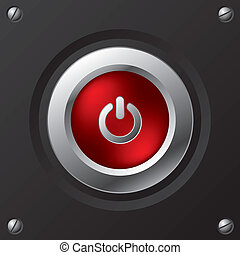 Cool power button design