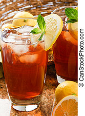 Cool, Refreshing Iced Tea - Refreshing iced tea makes a...