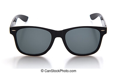 Cool sunglasses isolated on white background