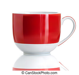 Cool tea cup - Vector illustration of Realistic Cool red tea...