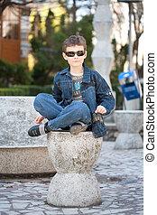 Cool urban kid