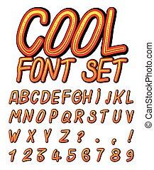 Cool Vector Font Set