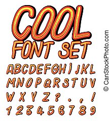 Cool Vector Font Set
