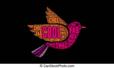 Cool Word Cloud