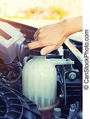 coolant car check