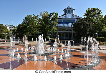 coolidge, parque, em, chattanooga, tennessee