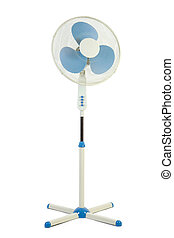 Cooling fan. Isolate on white background.