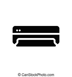 cooling  glyph flat icon