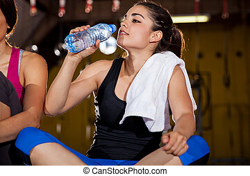 Cooling of after a workout