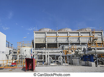 Cooling tower in industrial Plant - Cooling tower in...