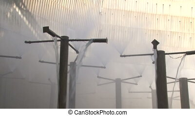 Cooling tower to the production of coke 2