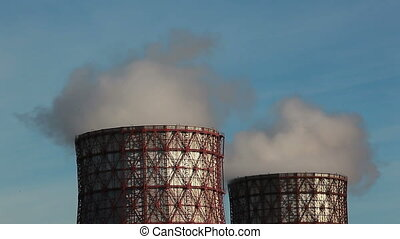 Cooling towers - HD 1080p