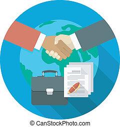coopération, affaires internationales