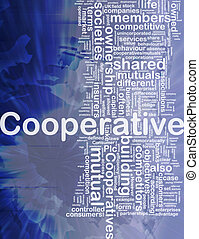 Cooperative background concept - Background concept...