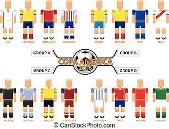 Copa America Centenario 2016 Vector