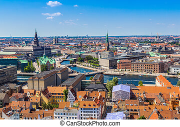 Copenhagen, Denmark - Copenhagen City, Denmark, Scandinavia...